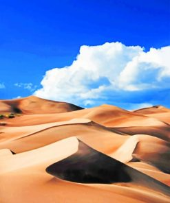 Sand Desert paint by numbers