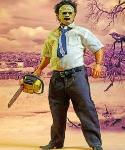 Texas Chainsaw paint by numbers