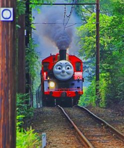Thomas The Tank Engines Paint by numbers