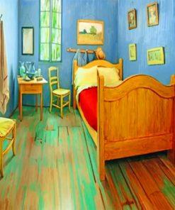 Van Gough Bed Room painnt by numbers