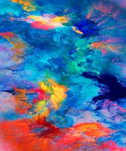 Abstract Colors Paint by numbers