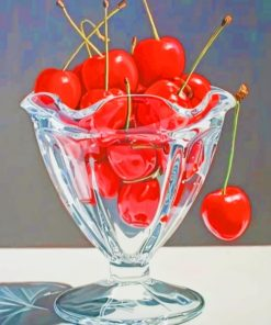 Aesthetic Cherries Paint by numbers