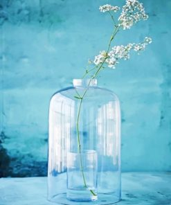 Aesthetic Glass Vase Paint by numbers
