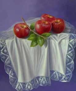 Aesthetic Red Apples Paint by numbers