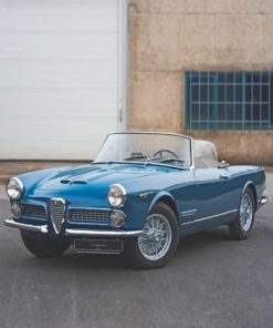 Alfa Romeo 2000 Touring Spider Paint by numbers