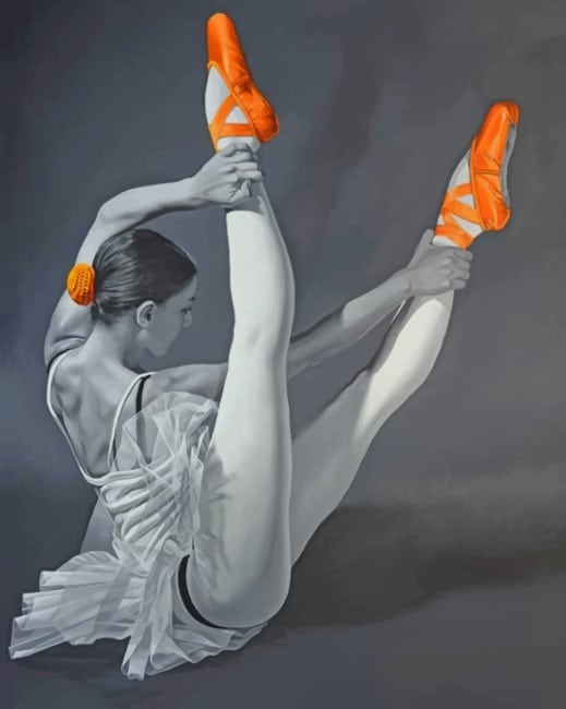 Ballerina Girl Paint by numbers
