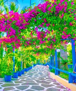 Beautiful Garden Paint by numbers