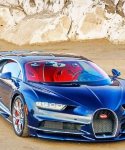 Bugatti Chiron Car paint by numbers