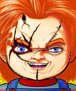 Chucky Paint by numbers