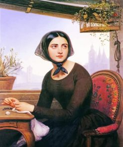 Classy Woman Josef Borsos Paint By numbers