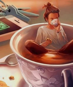 Coffee Lover Paint by numbers