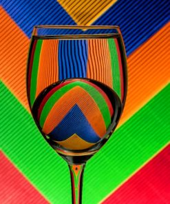 Colorful Glass Paint by numbers