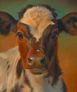 Vintage Cow Paint by numbers