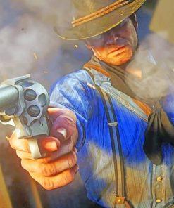 Cowboy Gunslinger paint by numbers