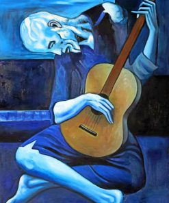 Dead Man Playing Guitar paint by numbers