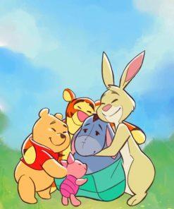 Winnie The Pooh Disney paint by numbers