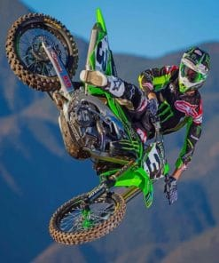 Dope Motocross Paint by numbers