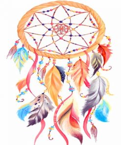 Dream Catcher Paint by numbers