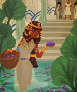 Egyptian Queen paint by numbers