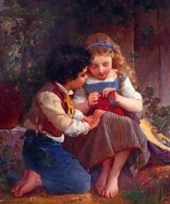 Emile Munier A Special Moment Paint by numbers