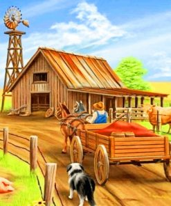 Farmer Paint by numbers