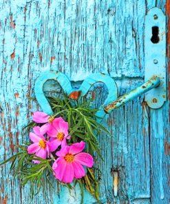 Flowers In Door paint by numbers