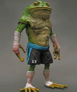 Frog Boxer Paint by numbers