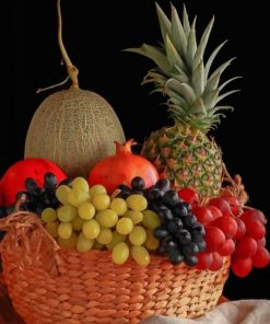 Fruit Basket paint by numbers