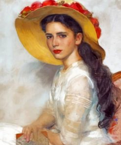 Gorgeous Vintage Woman Paint by numbers
