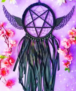 Gothic Dream Catcher Paint by numbers