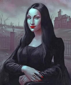 Gothic Mona Lisa Paint by numbers