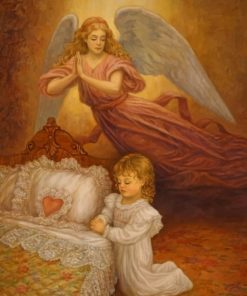 Guardian Angel Paint by numbers