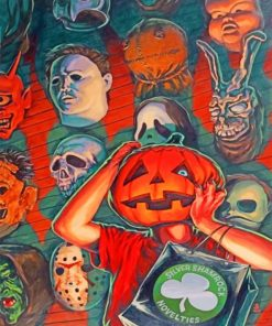 Halloween Kids paint by numbers