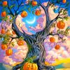 Halloween Tree Paint By Numbers