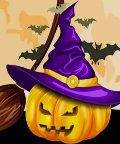 Halloween Vibes Paint by numbers