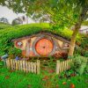 Hobbit Hole New Zealand Paint by numbers