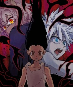 Hunter X Hunter Anime paint by numbers