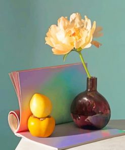 Lemons And Flowers Still Life paint by numbers