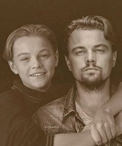 Leonardo DiCaprio Between The Present And The Past Paint by numbers
