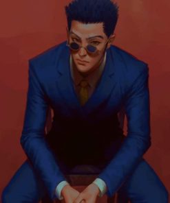 Leorio Hunter X Hunter paint by numbers