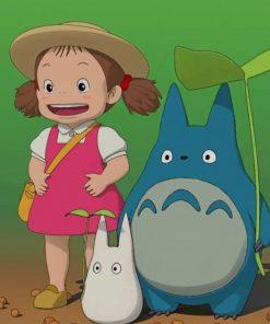 Mei My Neighbor Totoro Paint by numbers