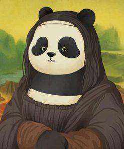 Mona Lisa Panda Paint by numbers