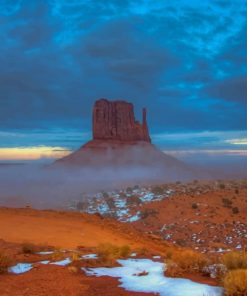 Monument Valley Arizona paint by numbers