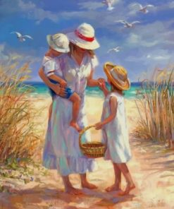 Mother And Children paint by numbers