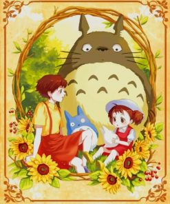 My Neighbor Totoro paint by numbers