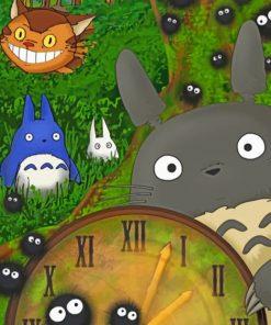My Neighbor Totoro Studio Ghibli Paint by numbers