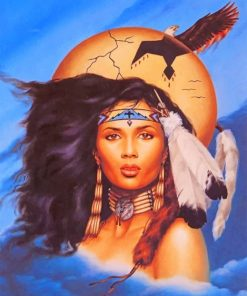 Native American paint by numbers