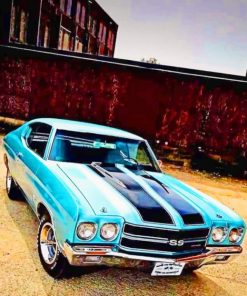 Old Muscle Car paint by numbers