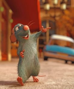 Remy Ratatouille paint by numbers