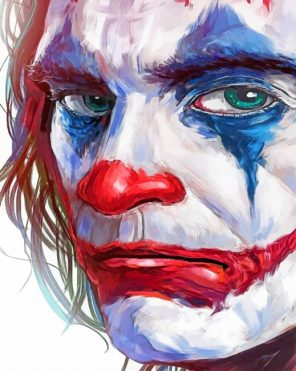 Sad Joker paint by numbers